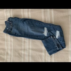 Paige verdugo ankle distressed jeans size 26